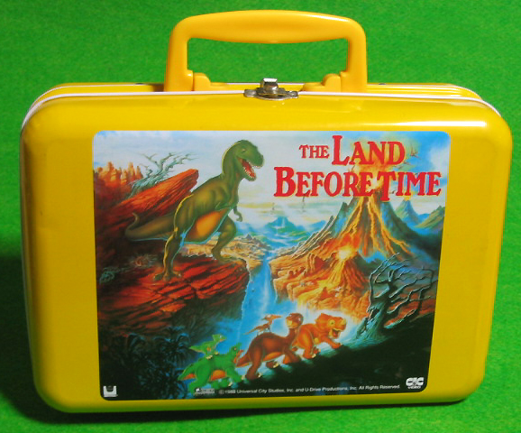 Tin Lunch Box /The Land Before Time /Japanese Item