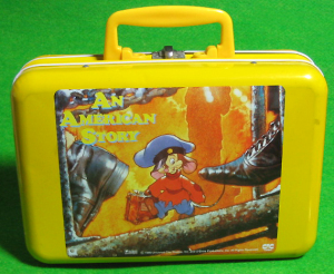 Tin Lunch Box /An American Tail /Japanese Item