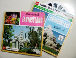 3D View-Master Reels / Disneyland Fantasyland and Tomorrowland / by gaf