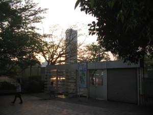 上野動物園出口