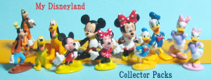Back: weekly My Disneyland / front: Collector Packs