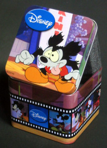TIME CONCEPTS / Mickey Mouse Runaway Brain / Tin case