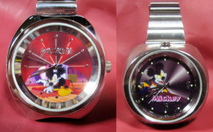 TIME CONCEPTS WATCH / Mickey Mouse Runaway Brain
