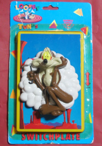 SWITCHPLATE / LOONEY TUNES WILE.E.COYOTE (1994)/ Happiness Express Club