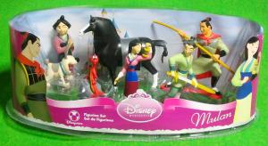 PVC / Disney Princess MULAN Figurine set / by Disney Store