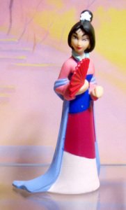PVC / maiden Mulan / by MATTEL
