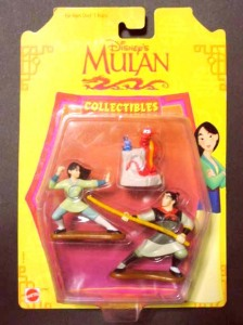 Collectibles Figures / Disney's MULAN (1998)/ by MATTEL