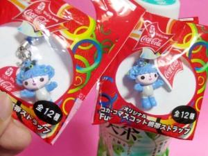 FUWA mascot / by Coka-Cola JAPAN