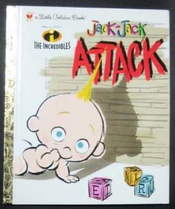 Jack-jack Attack (Little Golden Book)