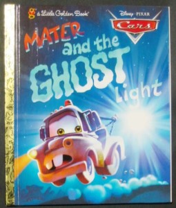 Mater And the Ghost Light (Little Golden Book: Cars)