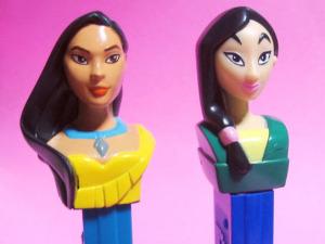 PEZ / Pocahontas and Mulan