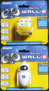 Disney - PIXAR / WALL-E and EVE / Energizer