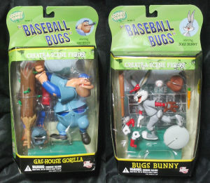 ACTION FIGURE /LOONEY TUNES Golden Collection / BASEBALL BUGS / by DC DIRECT
