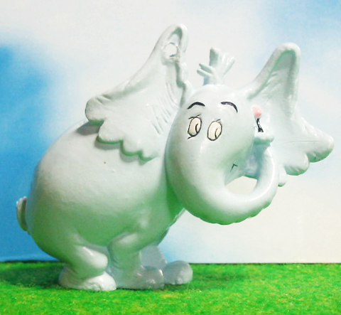 PVC / HORTON HEARS A WHO!