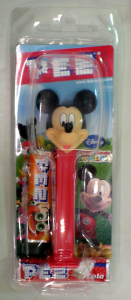 PEZ / Mickey Mouse -Mickey Mouse Clubhouse version / morinaga Package (JAPAN)