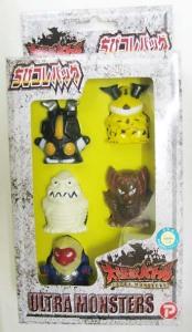 ちびコレバッグ/大怪獣バトル 指人形