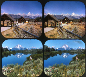 GRAND TETON NATIONAL PARK / VIEW MASTER