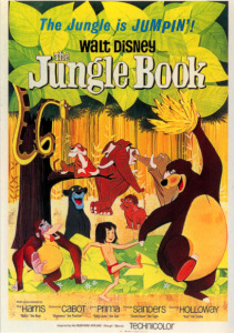 Jungle Book/ Post card by Pyramid, Leicester, UK