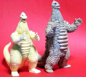 HDウルトラマンマックス版レッドキングと究極大怪獣レッドキング