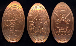 Souvenir Medal/ Pirets of The Caribian /TDL
