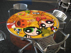 PPG仕様のテーブル