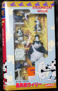 MOVIE FRIENDS No.19/ Steamboat Willie / by YUTAKA (1998)