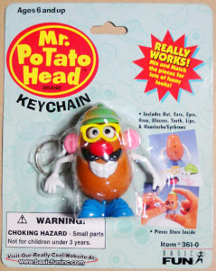 Mr. Potato Head Keychain / by Basic Fun
