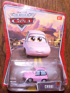 Disney Pixar Die Cast Cars /Chuki
