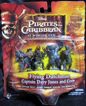 Figurine set / Pirates of the Caribbean At World's End / Flying Dutchman set / Zizzle Toys