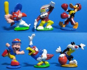 PVC / Looney Tunes sports mini figure