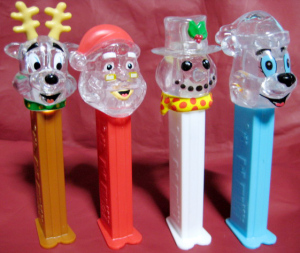 PEZ / Winter stars Crystal version
