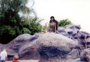 WDW / MAGIC KINGDOM / Triton's Garden / Ariel / 1999.9.20