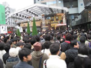 コサキン公開録音/ふれあい会の会場混雑風景