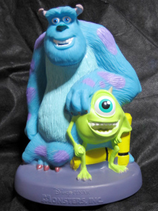 BANK / Disney ・PIXAR MONSTERS,INC. / Spin Master Toys (2001)
