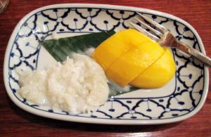 マンゴーともち米