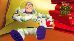 TRADING CARDS / TOY STORY limited wide / 21-PIZZA PLANET OR BUST