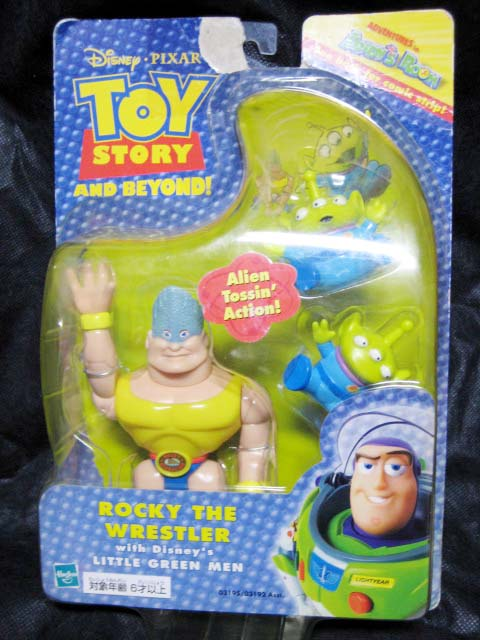 Action Figure / TOY STORY and BEYOND ! / ROCKEY THE WRESTLER with Disney's Little Green Men