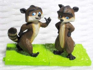Over the Hedge real figure collection (2006)/ RJ (Type-1 and 2)/ Toy's-works (JAPAN)