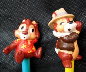 キャラクターえんぴつ/チップとデールの大作戦(1989)