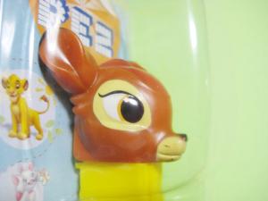 バンビの色ハゲ
