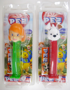 PEZ/ Darby and Buster / Japanese Package (Morinaga)