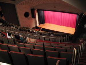 九段会館/3階席、最後尾からの眺め