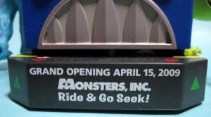 Monsters, Inc. Ride & Go Seek! /Tokyo Disneyland