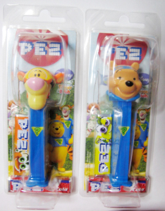 PEZ / My friends Tigger & Pooh / Japanese packages (Morinaga)