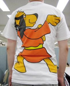 ほえよ!0011Tシャツ(背面)