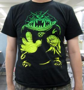 T-shirt/怪物大王 <怪物くんX The Wonderfull Design Works.>