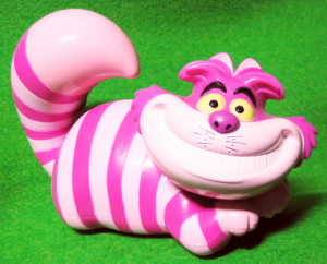 CANDY CASE Figurine / Cheshire Cat / Disney Store Exclusive