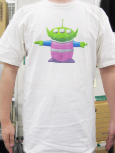 T-shirt/TOY STORY ALIEN / Disney Store