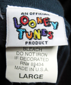 LOONEY TUNES PRODUCT/ tag