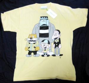 T-shirt/怪物くんと怪物三人組 <怪物くんX The Wonderfull Design Works.>